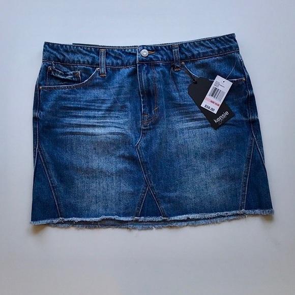Kensie Dresses & Skirts - Kensie Jean Skirt
